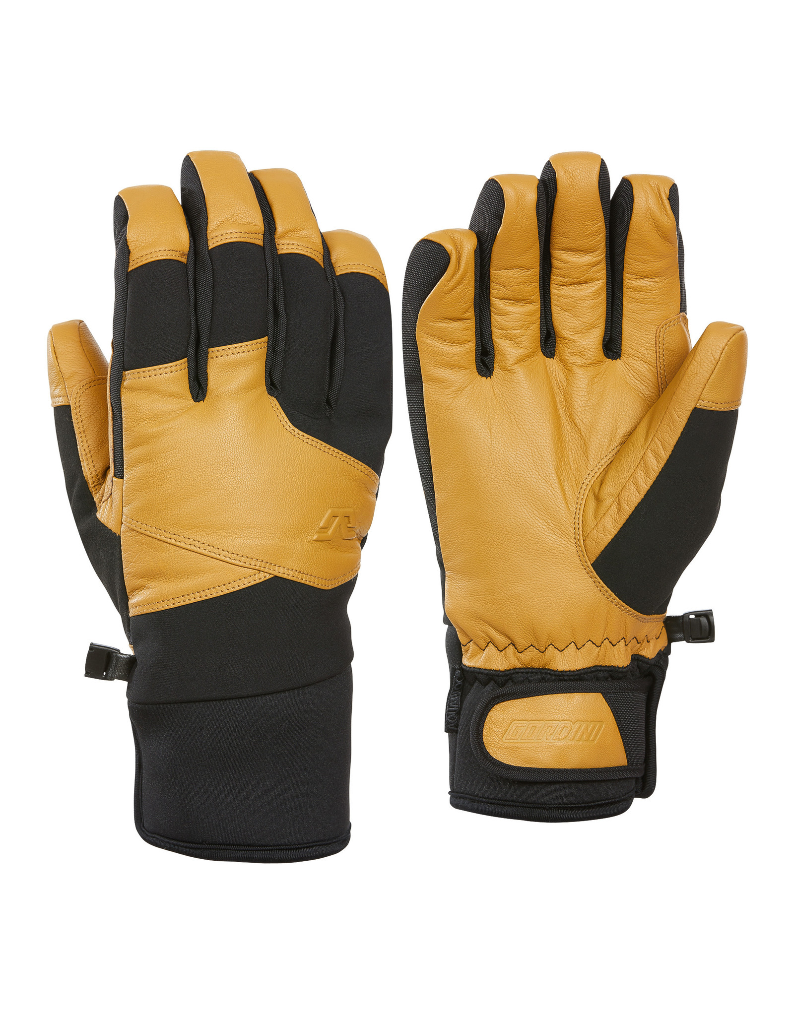GORDINI GORDINI MOUNTAIN CREW MENS GLOVE BLACK-TAN 20