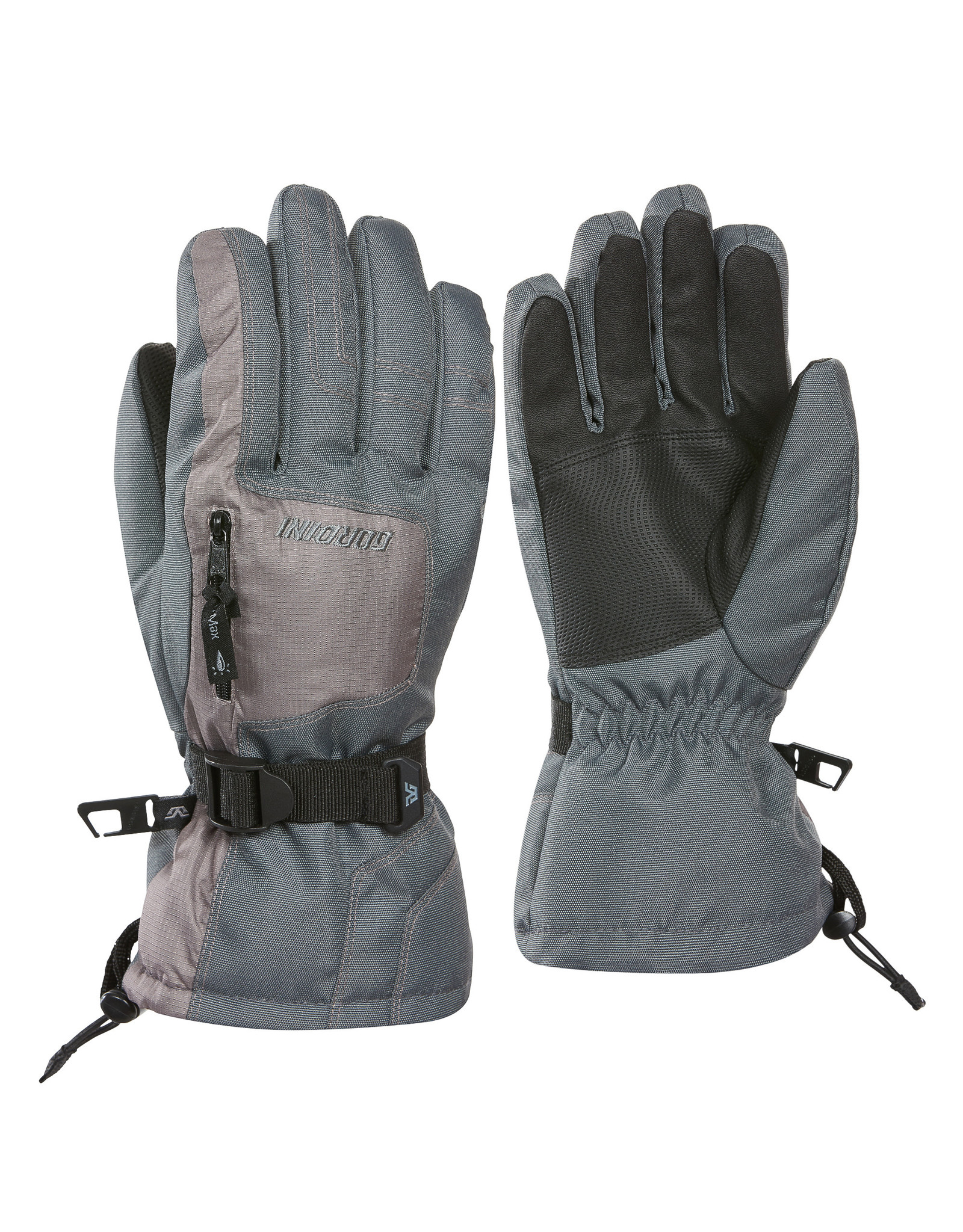 GORDINI GORDINI ULTA DRI-MAX GAUNTLET IV MENS GLOVE DARK GREY LIGHT GREY 20