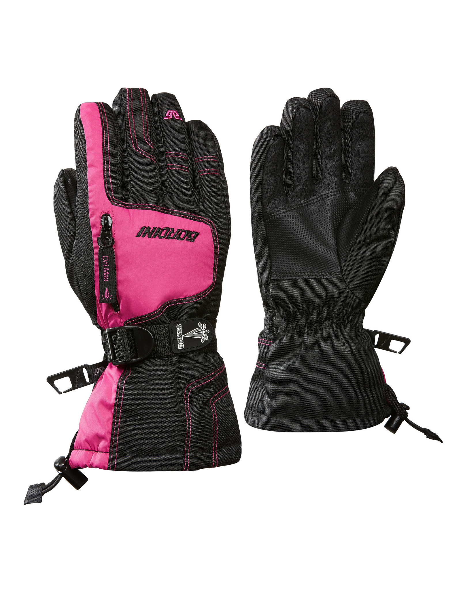 GORDINI GORDINI ULTRA DRI-MAX GAUNTLET IV JUNIOR GLOVE BLACK-DEEP PINK 20