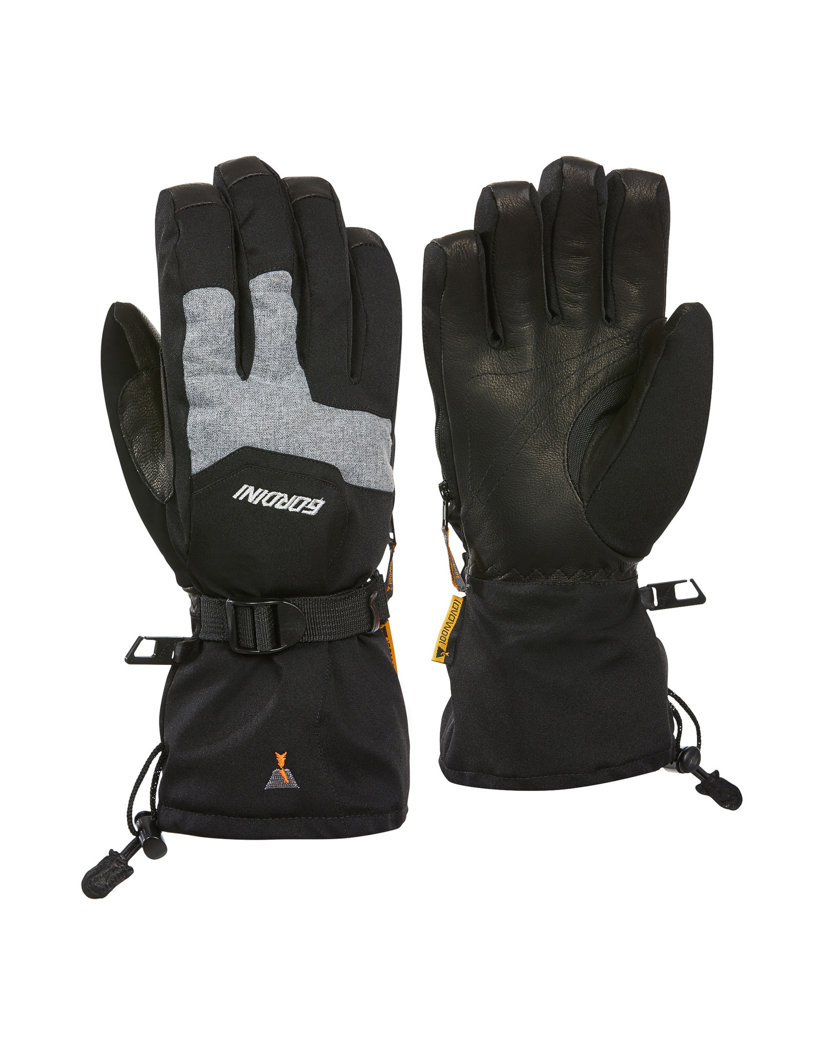 GORDINI GORDINI THE TWO STEP GLOVE BLACK-GREY MELANGE 20