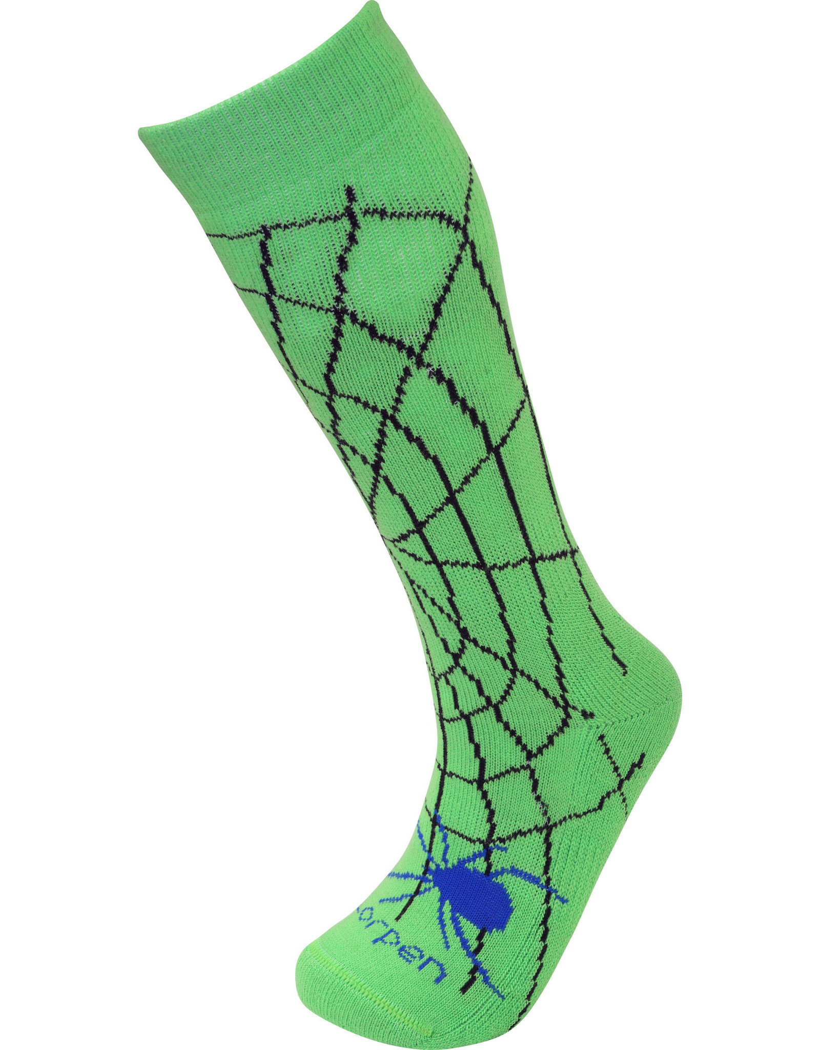 LORPEN LORPEN MERINO BLEND KIDS SKI 2607 SPIDEY GREEN KIDS 21