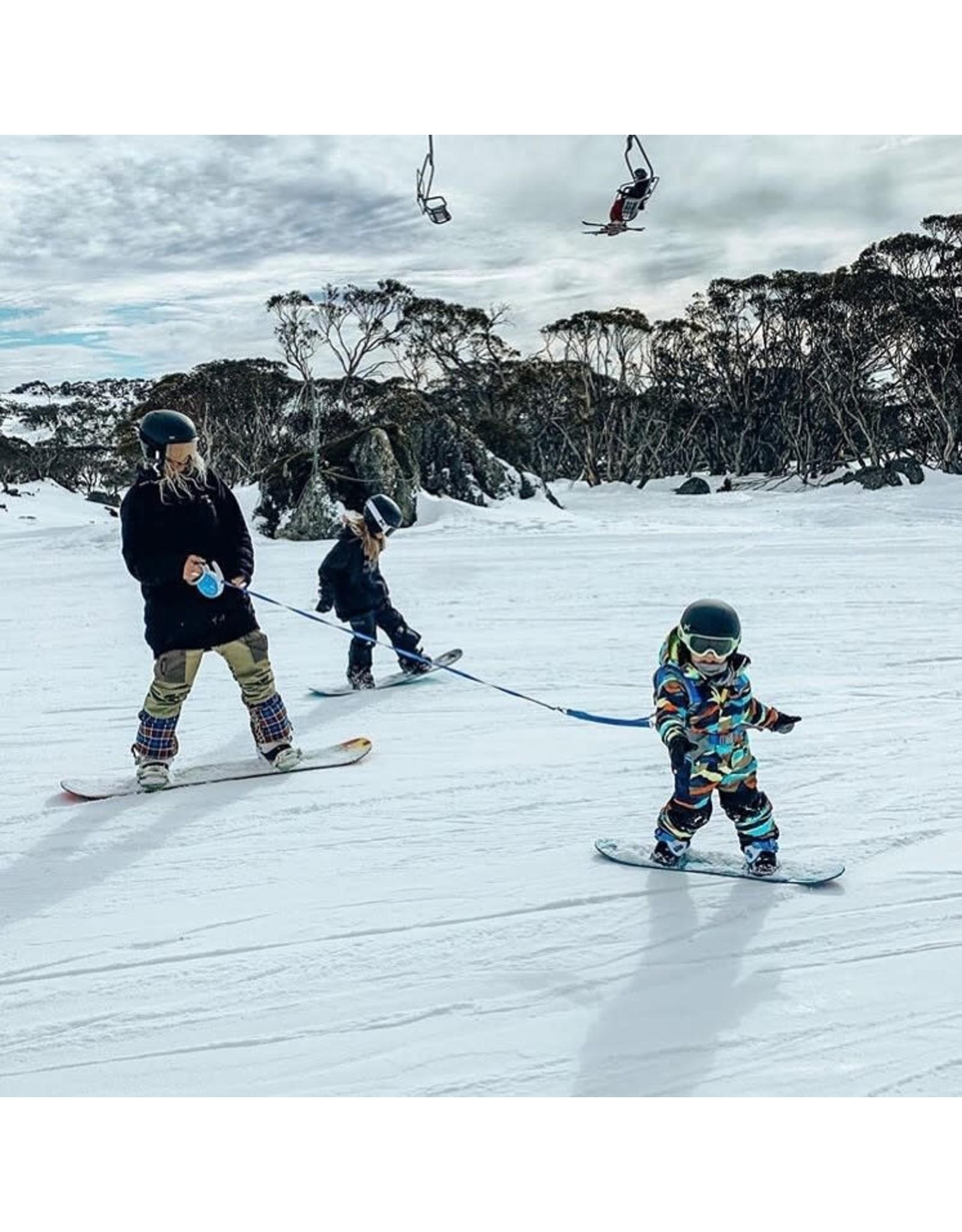 MDXONE MDXONE OX HARNAIS RÉTRACTABLE POUR SKI et SNOW BLEU 20