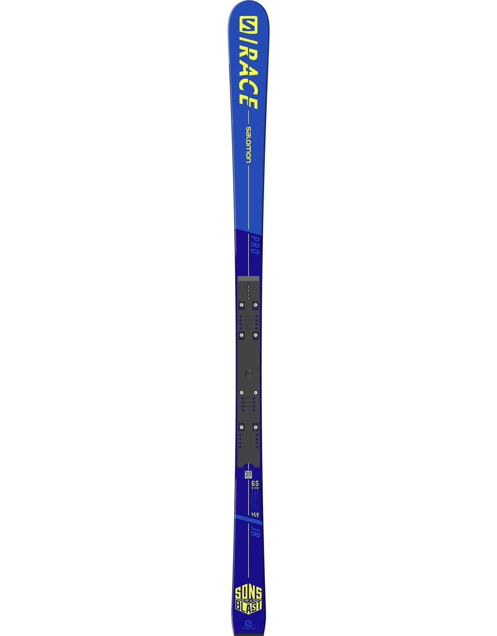 SALOMON SALOMON ALPINE SKI RACE PRO GS FIX-IN JR 20 159