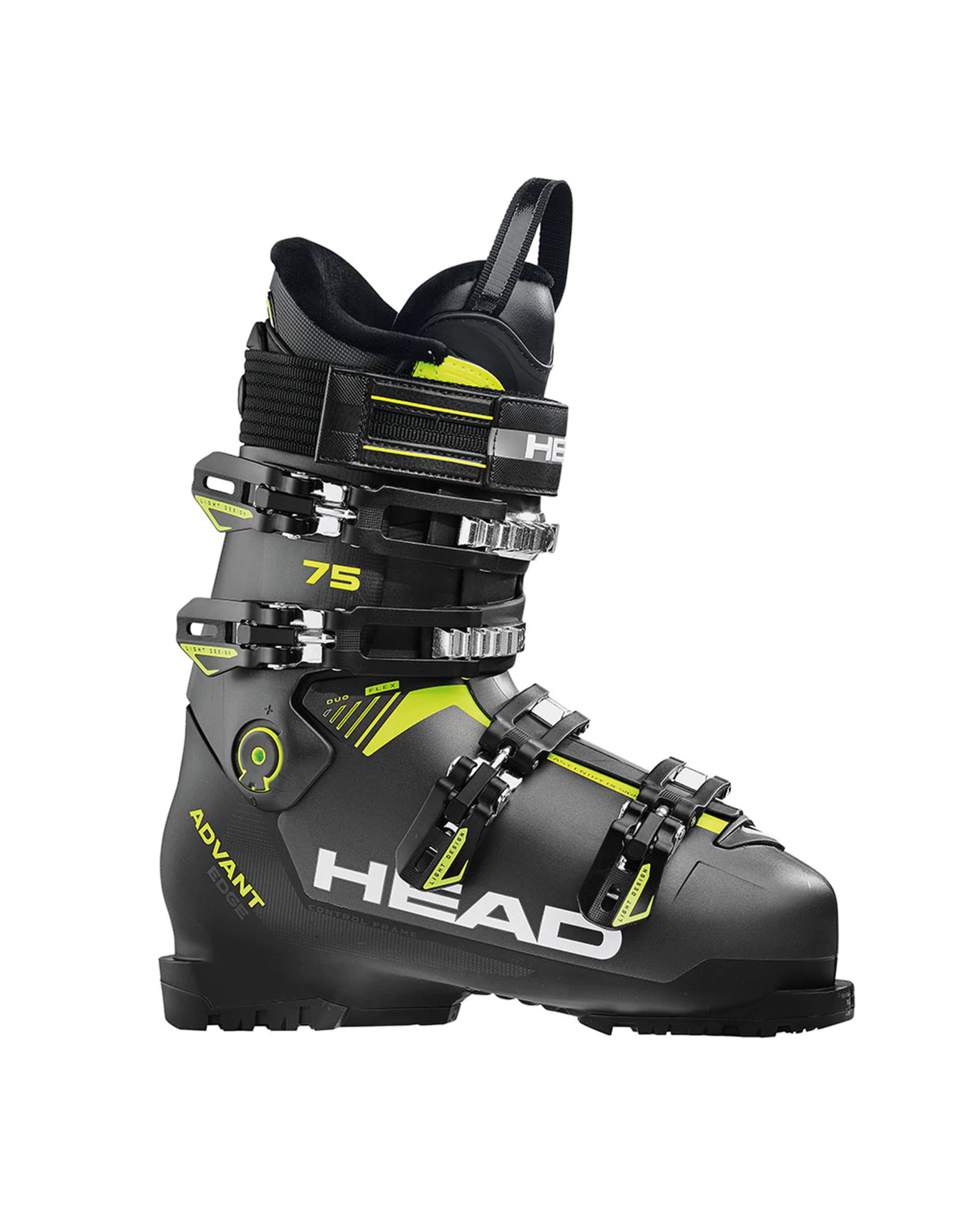 HEAD Head advant edge 75 alpine ski boot SR anth-black -yellow 22