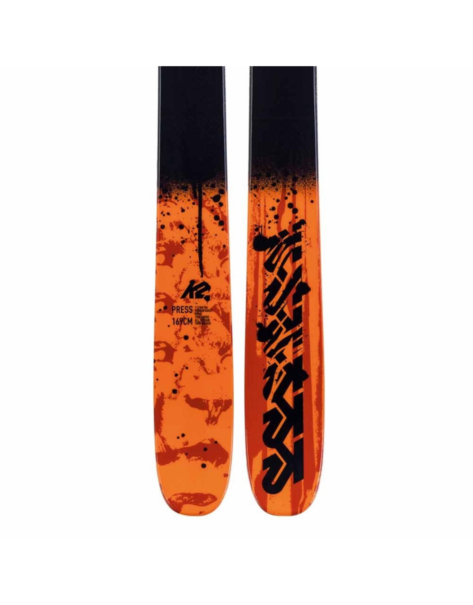 K2  K2 F19 PRESS freestyle alpine ski