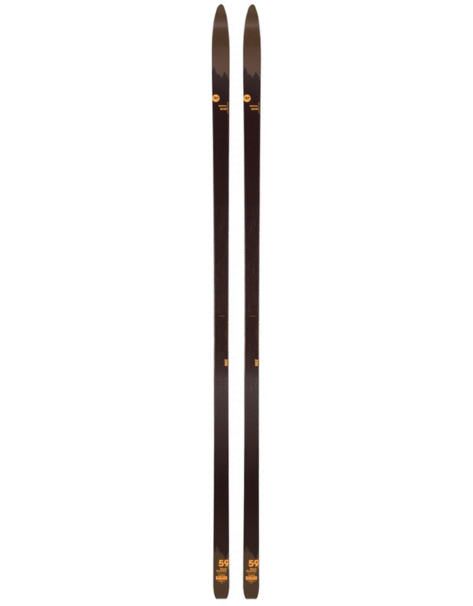 ROSSIGNOL ROSSIGNOL BC 59 SKI DE FOND SR BLK-BRN 20