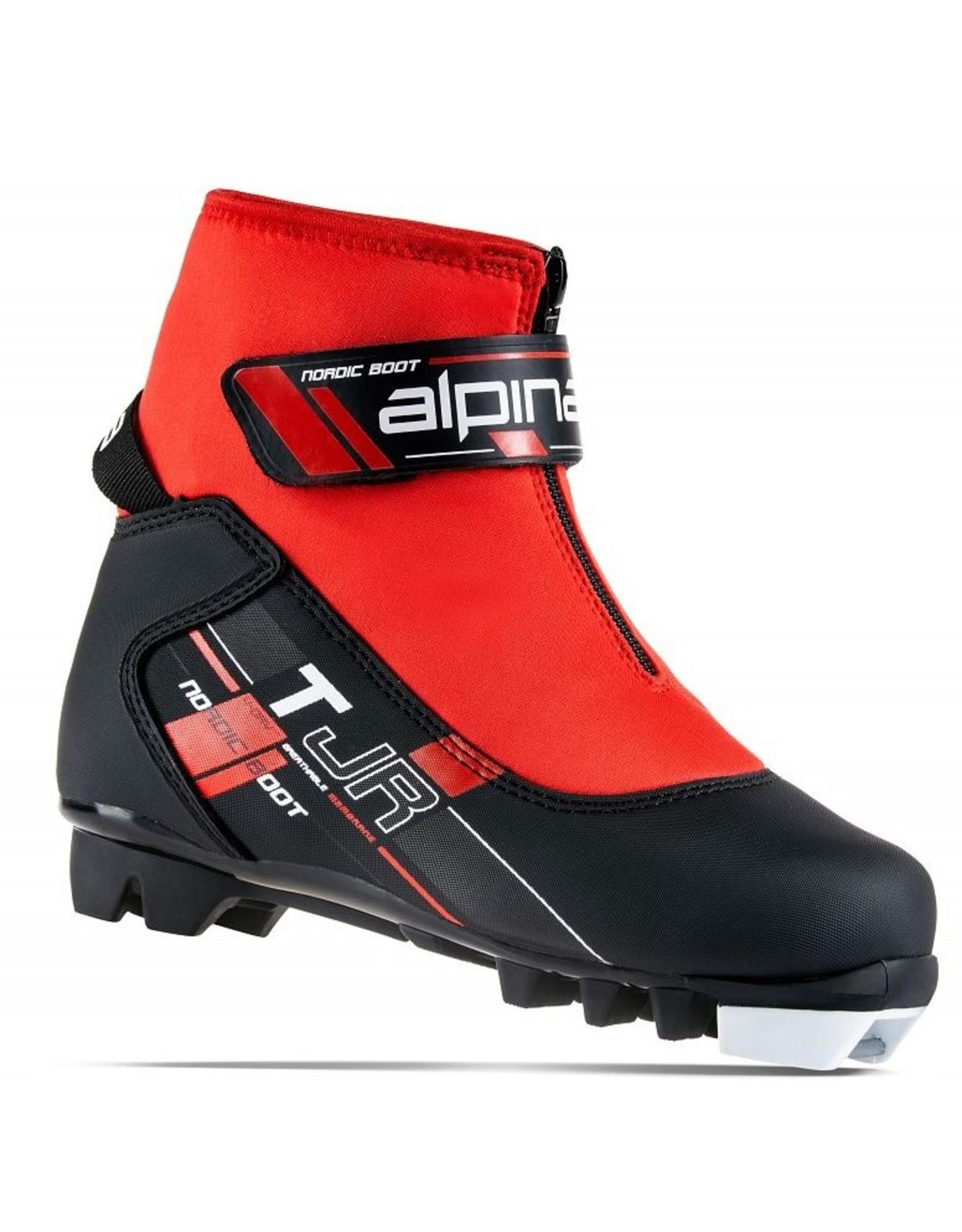 ALPINA ALPINA TJ CROSSCOUNTRY SKI BOOT JR BLACK/RED 20