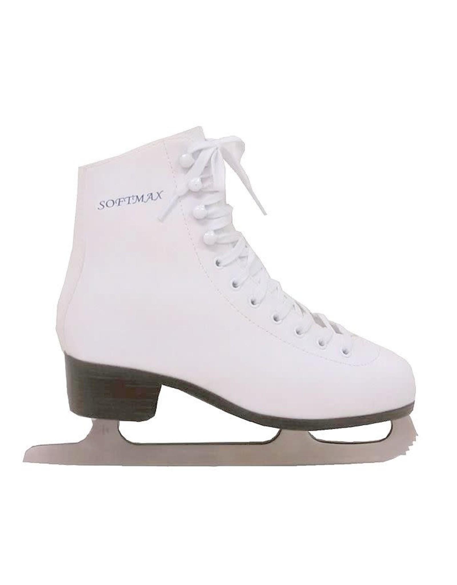 Softmax women classic ice skate 126 white