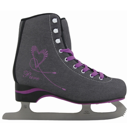 SOFTMAX 736 WOMEN ICE SKATE Gris/Mauve