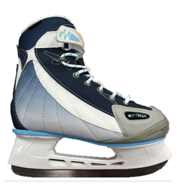 SOFTMAX S-957 WOMEN  ICE SKATE Doublure Thinsulate BLK-GRY