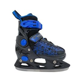 SOFTMAX JUNIOR ADJUSTABLE ICE SKATE BLACK