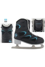 SOFTMAX 626 PATIN YOUTH W BLK-BLU
