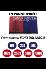 Carte cadeau ''ECHO-DOLLARS''