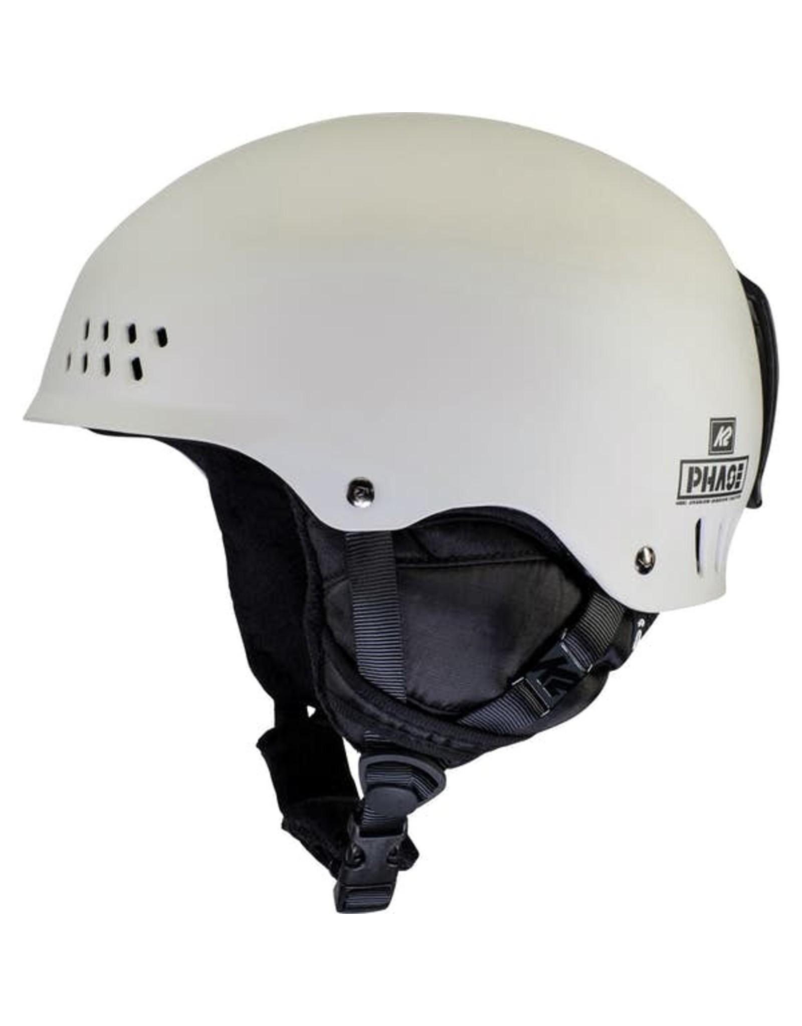 K2 K2 PHASE PRO SR WHT SKI HELMET
