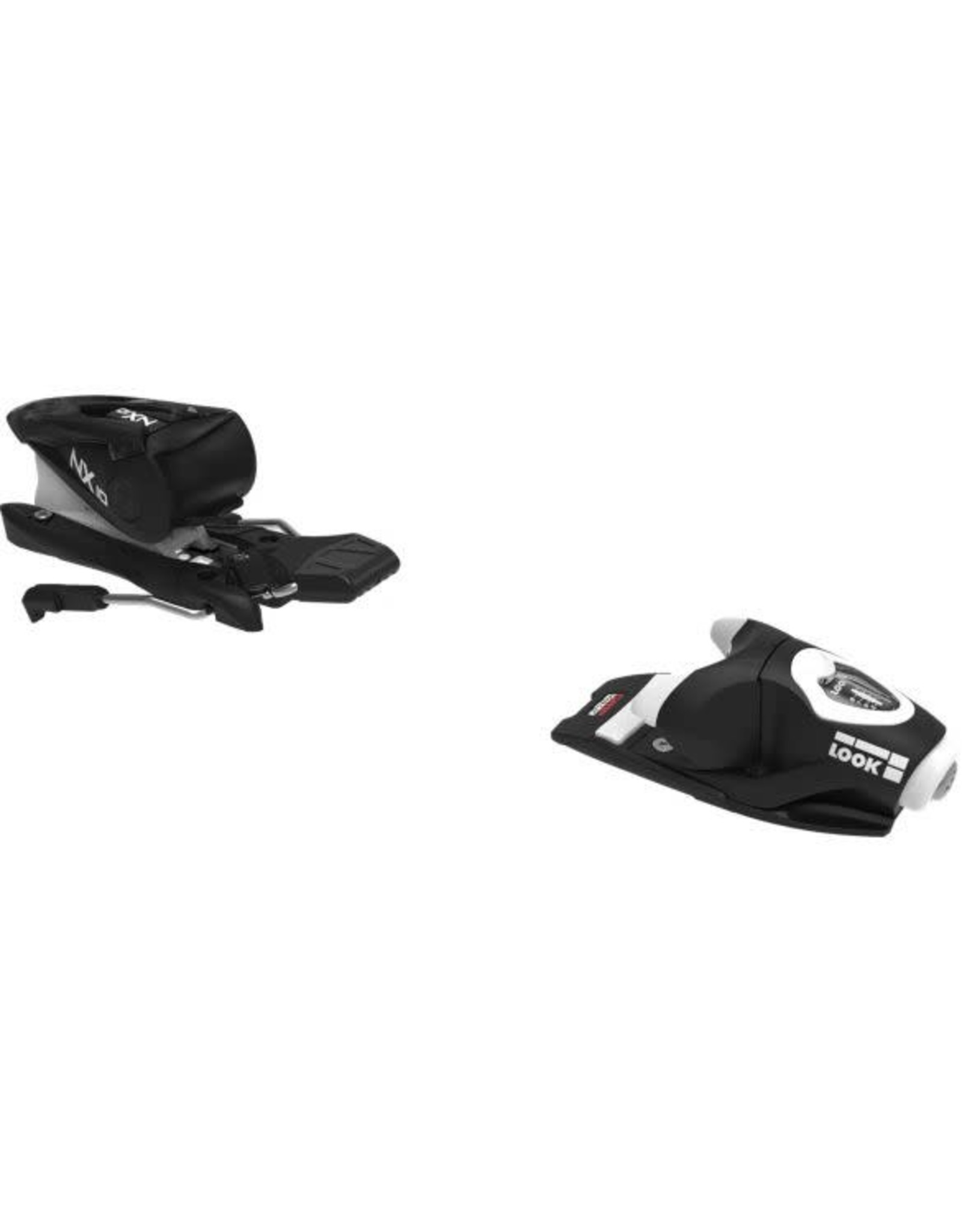 LOOK NX 10 B83 BK/WH ALL MOUNTAIN ALPINE SKI BINDINGS