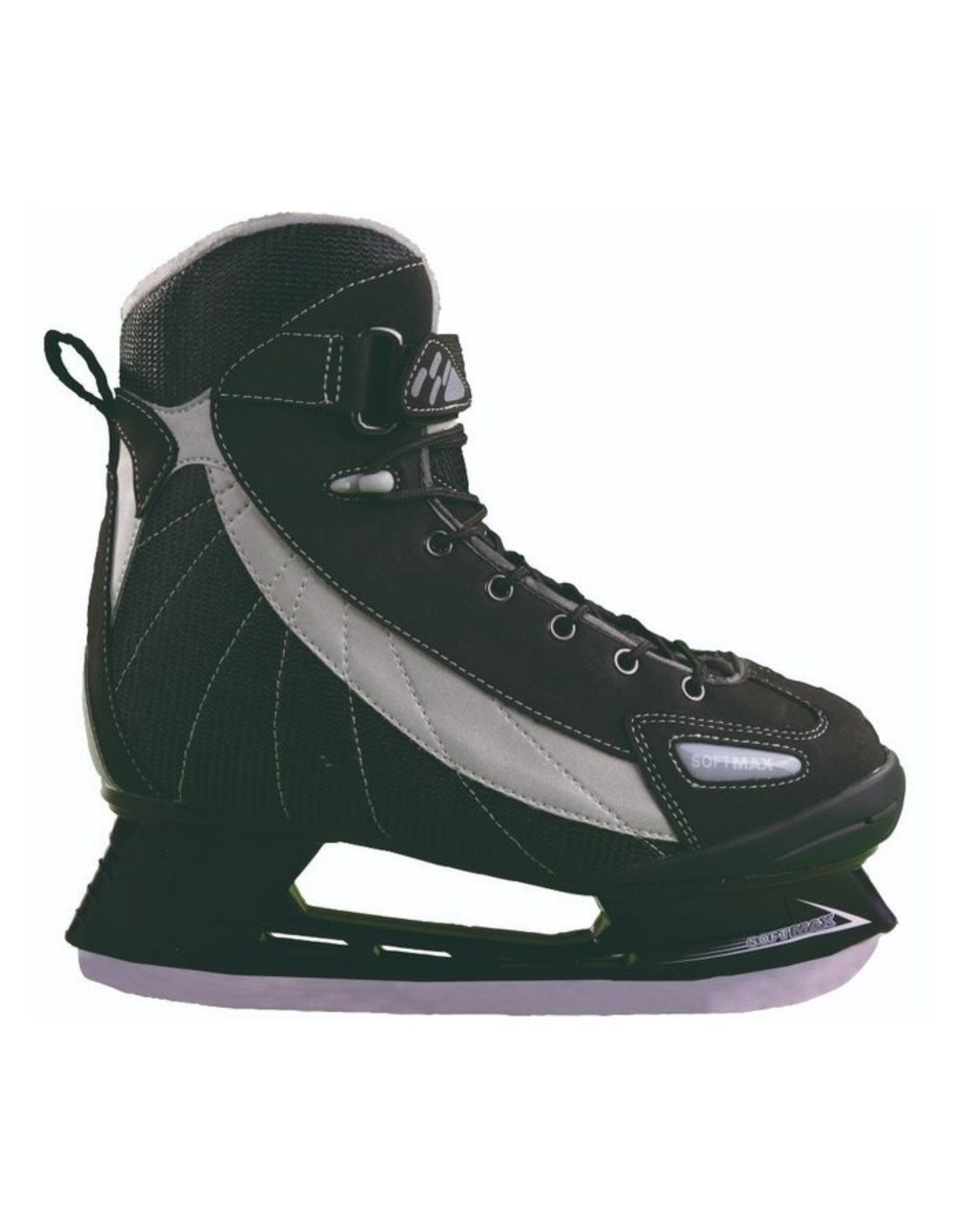 SOFTMAX S-957 MEN ICE SKATE Doublure Thinsulate BLK-GRY