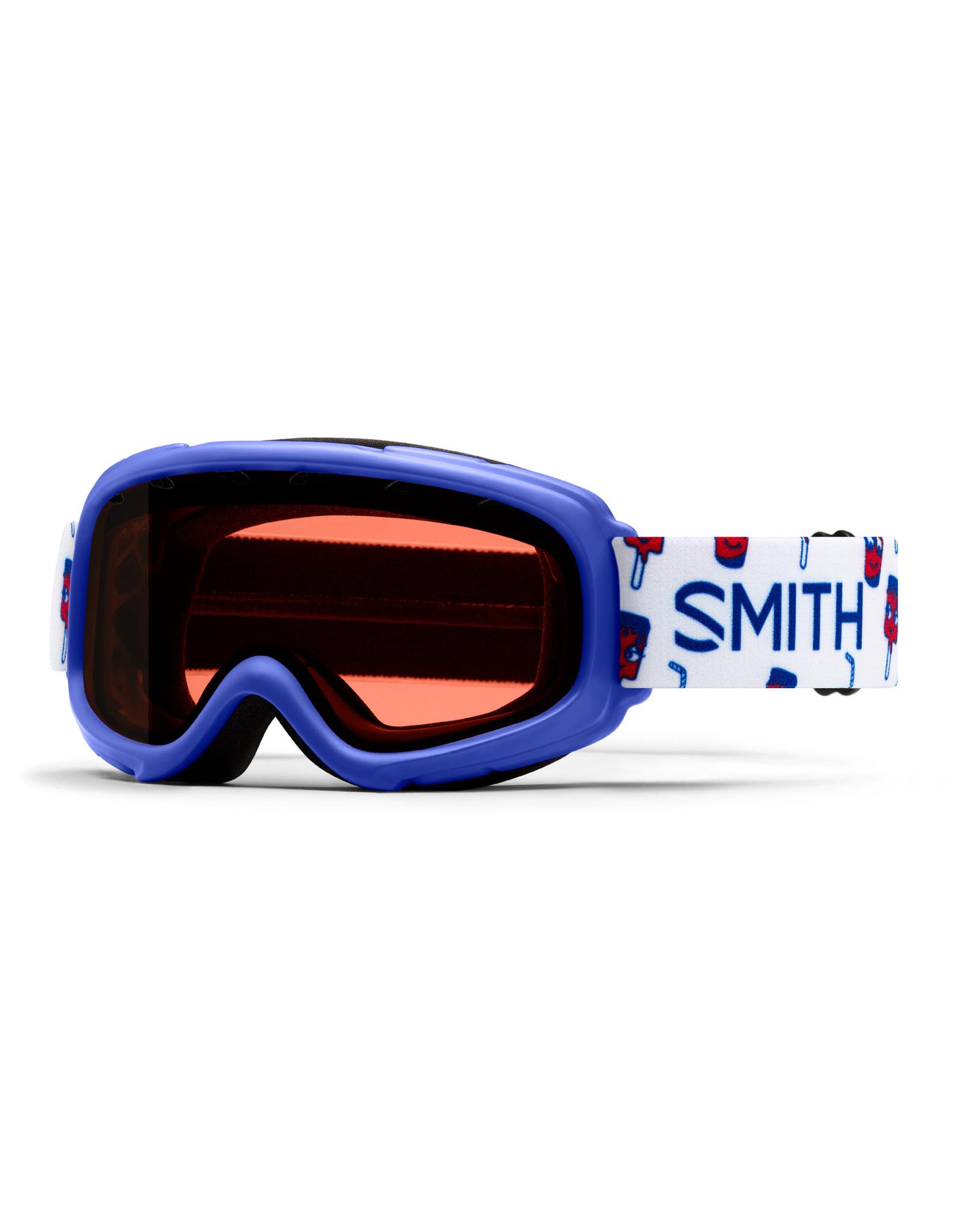 SMITH GAMBLER SKI GOGGLE BLUE JR 21