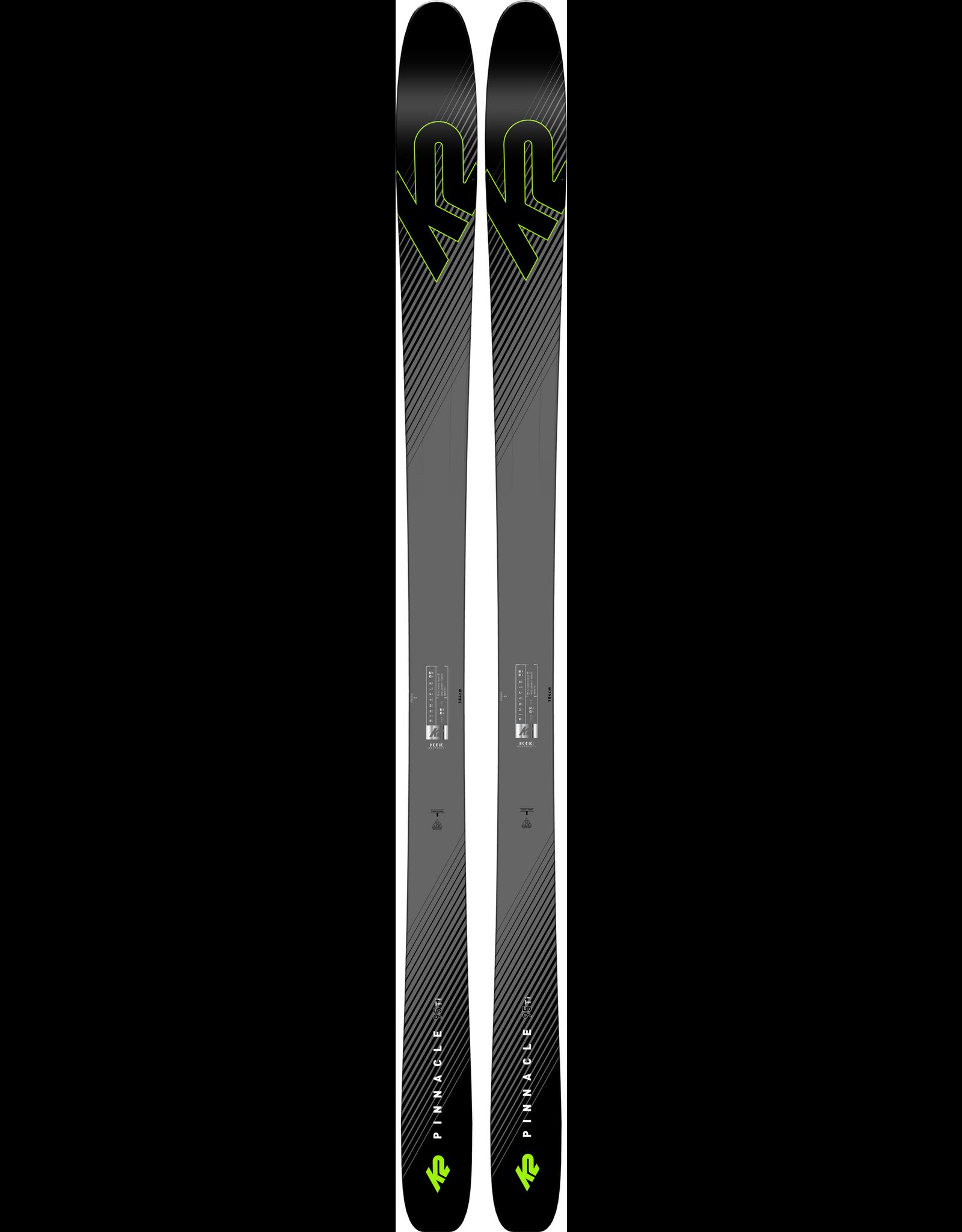 K2 SKI K2 F18 PINNACLE 95 TI 19