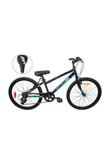 AVP M24 NAVY-TURQUOISE 24 JUNIOR MOUNTAIN BIKE 21