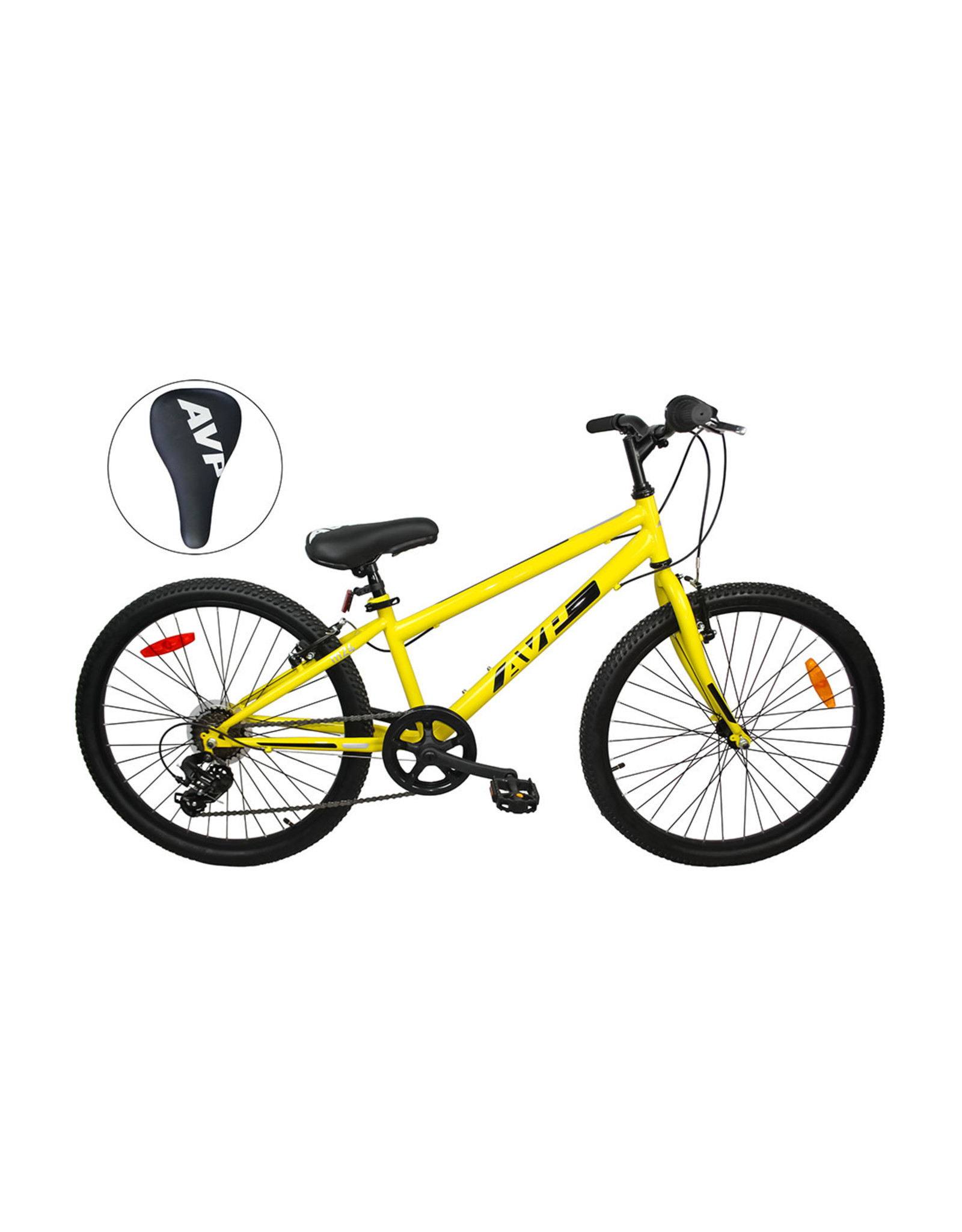 AVP AVP M24 YEL-BLK 24 JINIOR MOUNTAIN BIKE 21