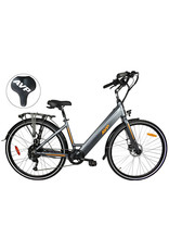 AVP AVP HE-1000 LOW STEP CHARCOAL MA/ORANGE MAT EBIKE