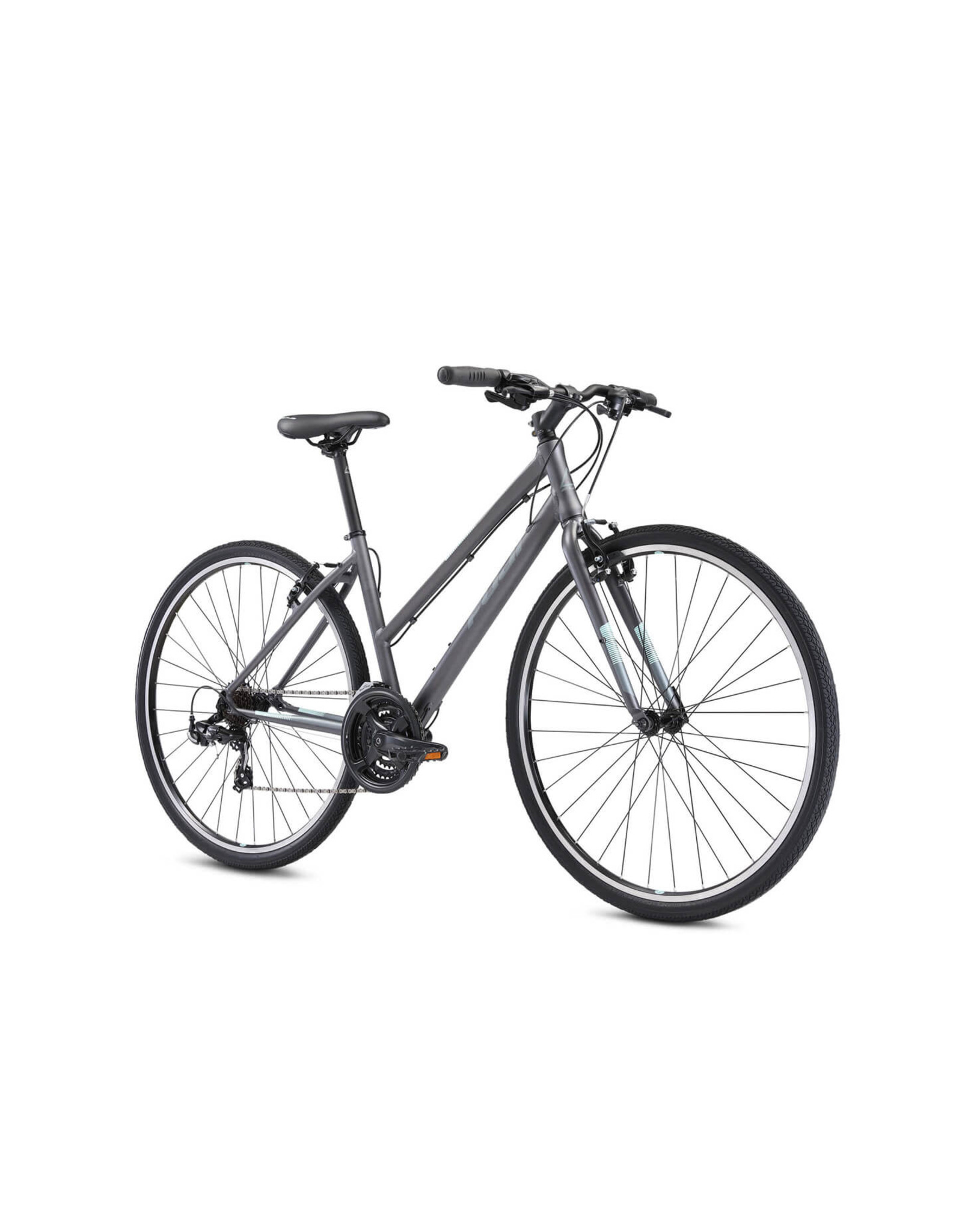 Fuji FUJI ABSOLUTE 2.1 ST SATIN GRAPHITE HYBRIDE BIKE 21