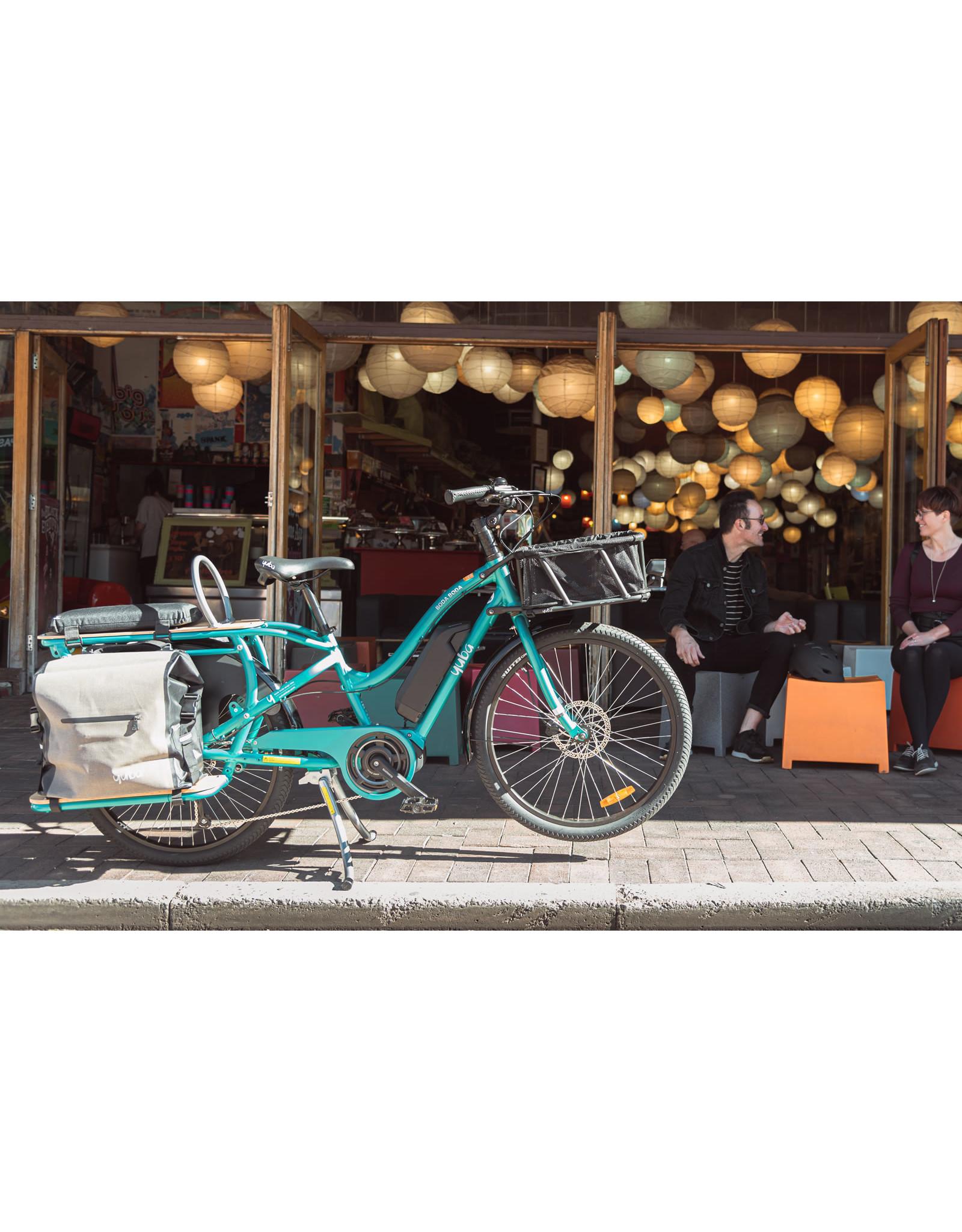 YUBA YUBA Electric Boda Shimano ST Aqua E6100 ELECTRIC CARGO BIKE