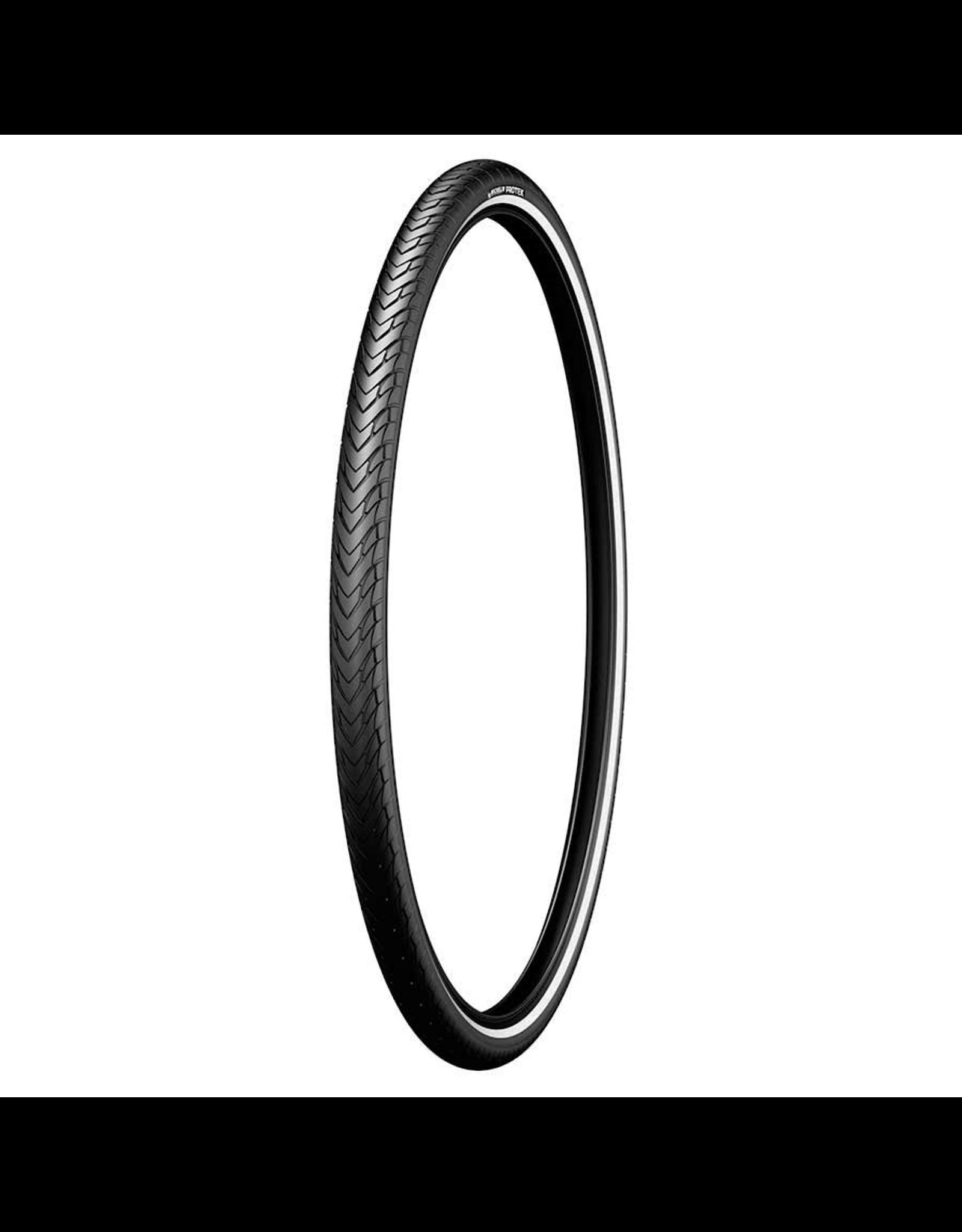 Michelin Protek tire, 26''x1.85, Rigide, Tringle, Protek 1mm, Reflex, 22TPI, blk