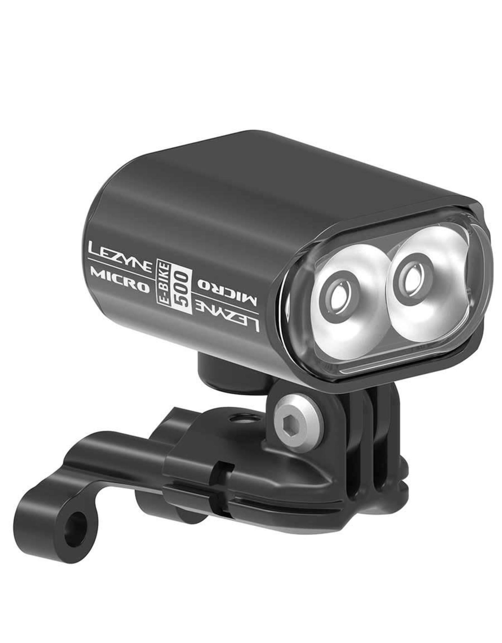 Lezyne light kit E-Bike Micro Drive 500 black