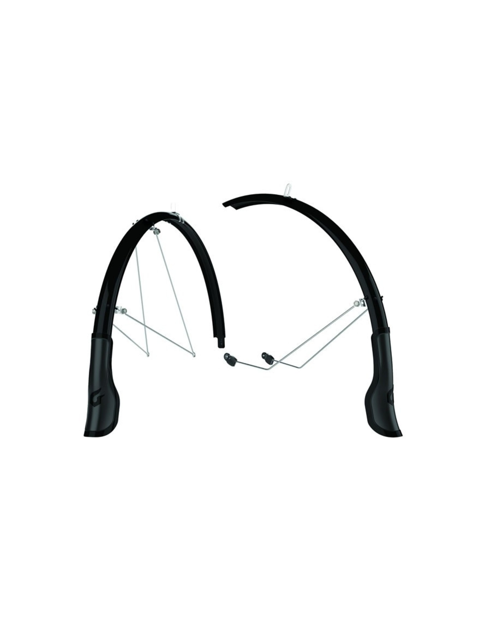 BIKE MUDGUARDS CENTRAL FULL COVERAGE 700C X 35MM