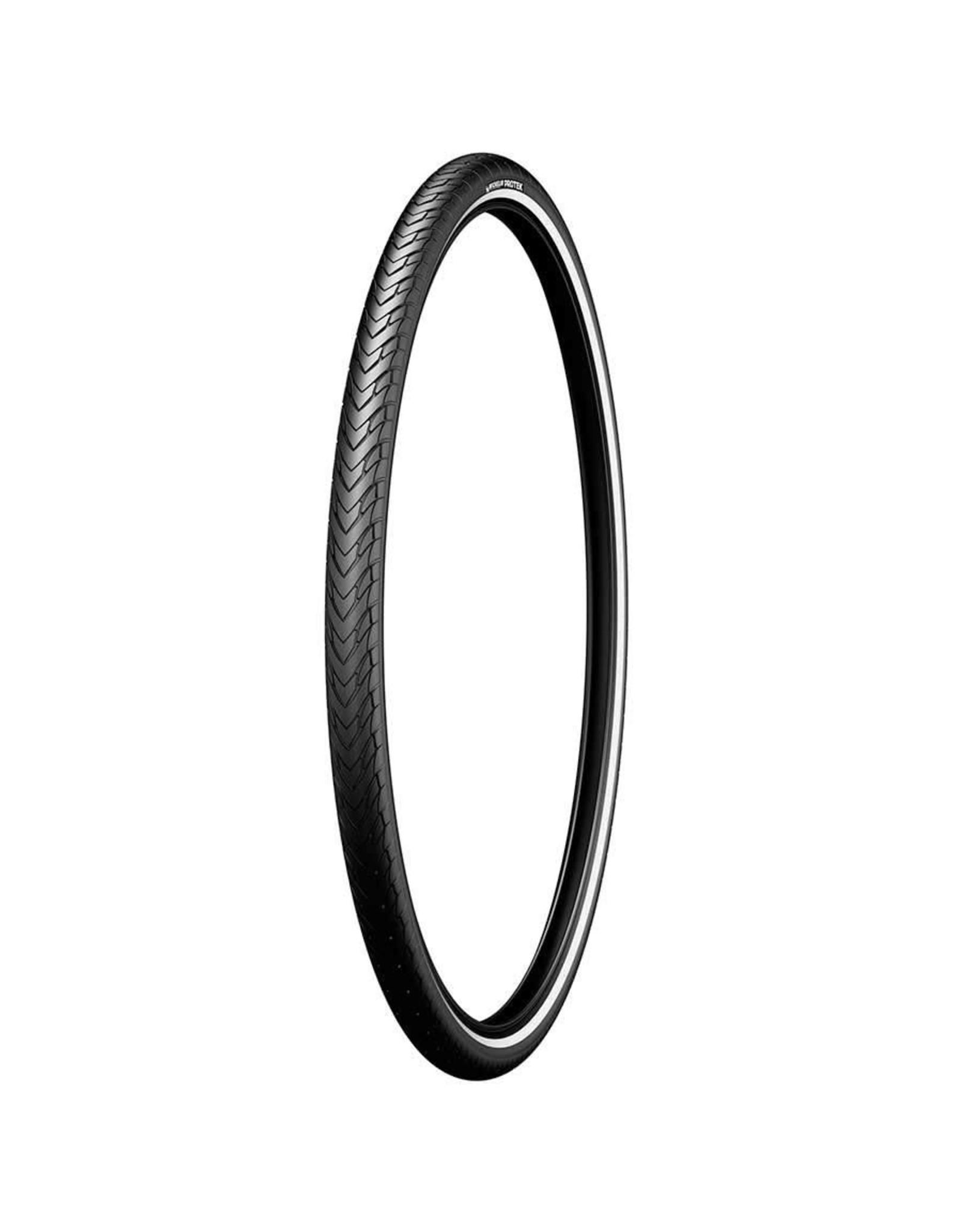 Michelin, Protek, Pneu, 700x35C, Rigide, Tringle, Protek 1mm, Reflex, 22TPI, Noir