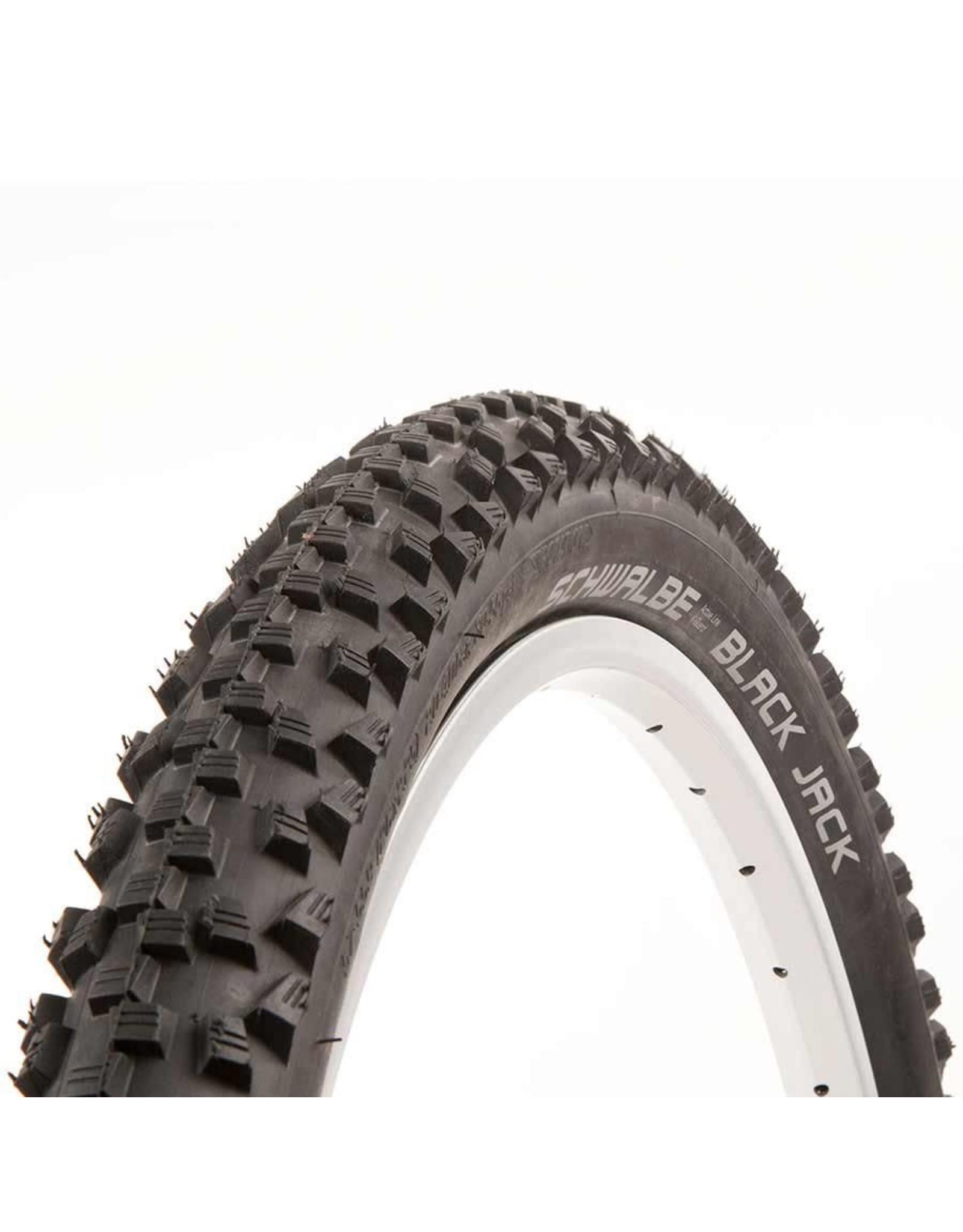 Schwalbe, Black Jack, Pneu, 26''x2.10, Rigide, Tringle, SBC, K-Guard, 50TPI, Noir