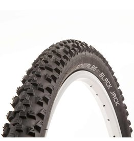 Schwalbe, Black Jack, tire, 26''x2.10, Rigide, Tringle, SBC, K-Guard, 50TPI, black