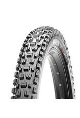 Maxxis, Assegai, tire, 27.5''x2.60, Pliable, Tubeless Ready, 3C Maxx Terra, EXO+, Wide Trail, 120TPI, Noir