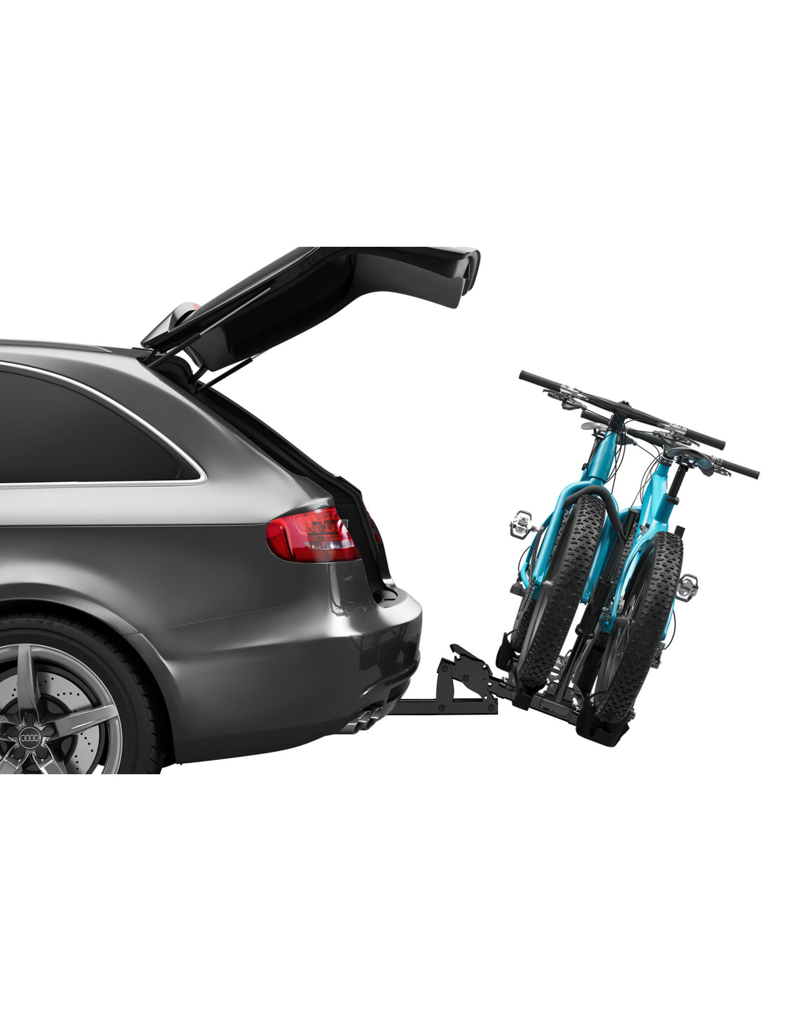 """Thule THULE T2 CLASSIC - HITCH BIKE RACK FOR 2"""" REC. FOR 2 BIKES"""
