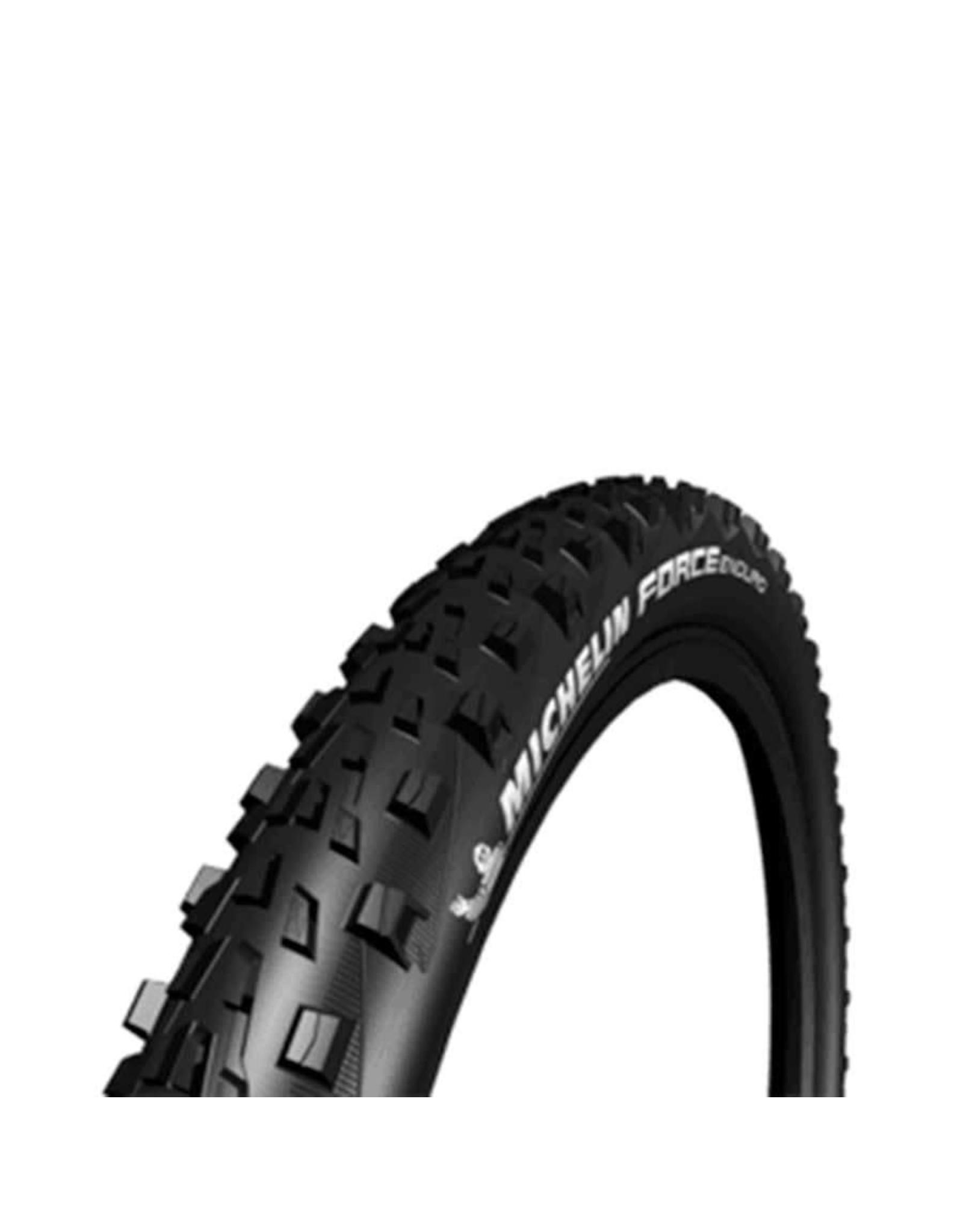 Michelin, Force Enduro, Pneu, 27.5''x2.35, Pliable, Tubeless Ready, GUM-X, GravityShield, 60TPI, Noir