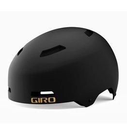 GIRO QUARTER WARM BLACK BIKE HELMET