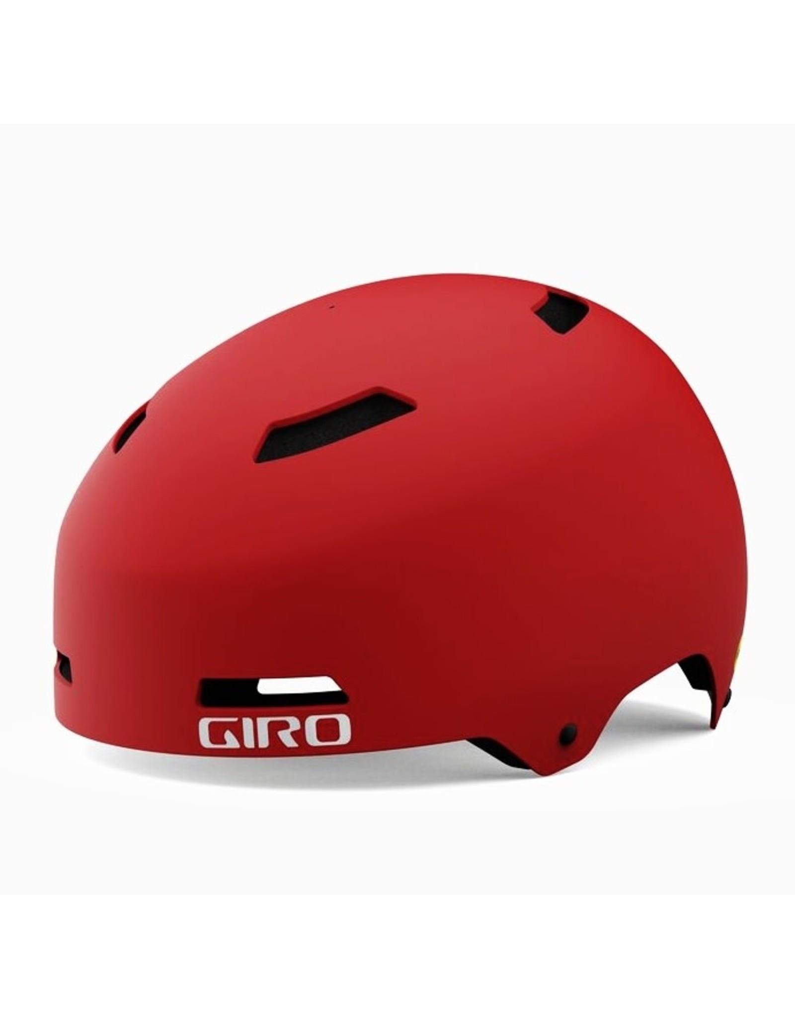 Giro GIRO QUARTER MAT TRIM RED BIKE HELMET