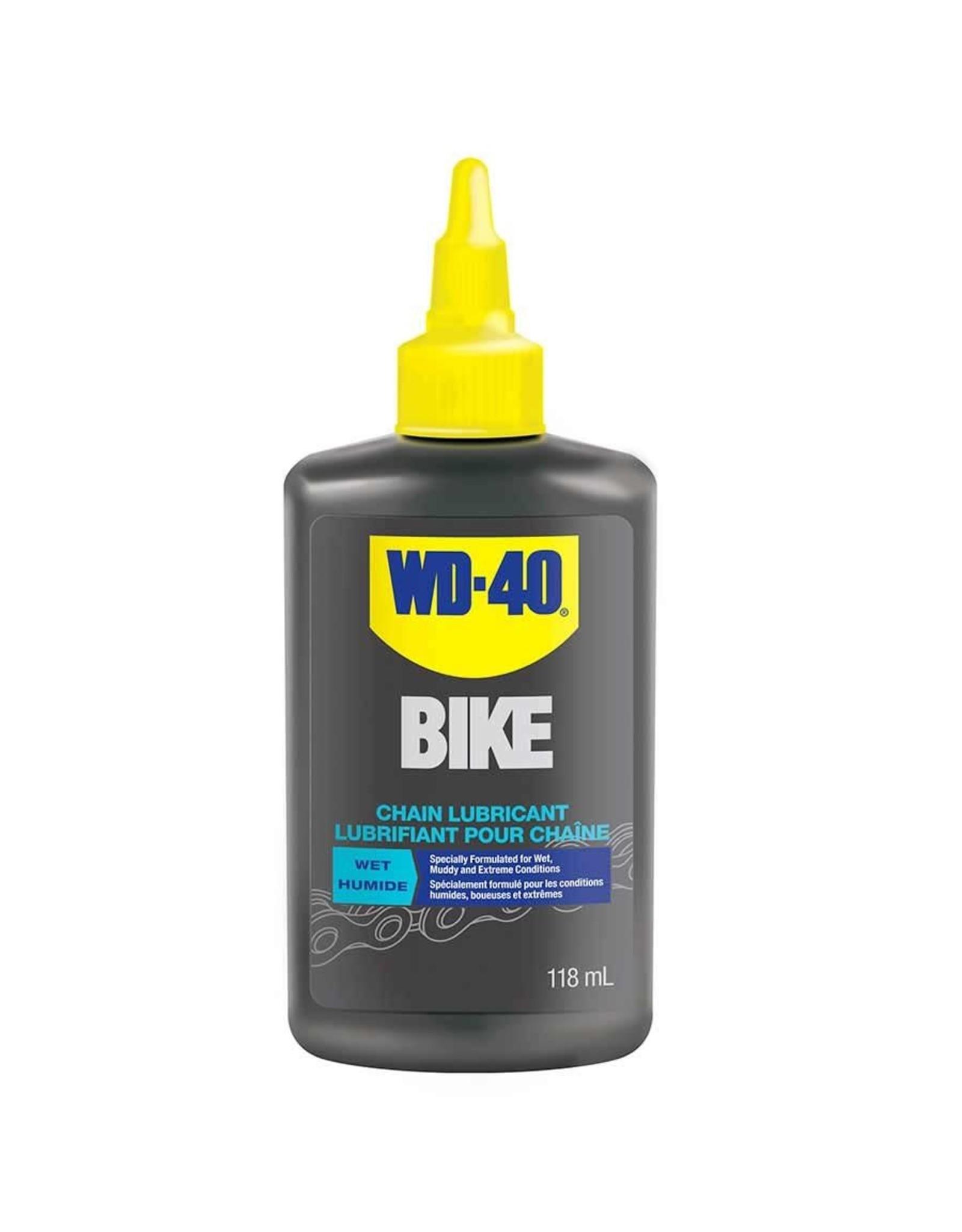 WD-40 Bike, Wet, Chain Lubricant , 118ml