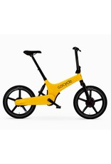 Gocycle GoCycle G3+ folding electric bike yellow