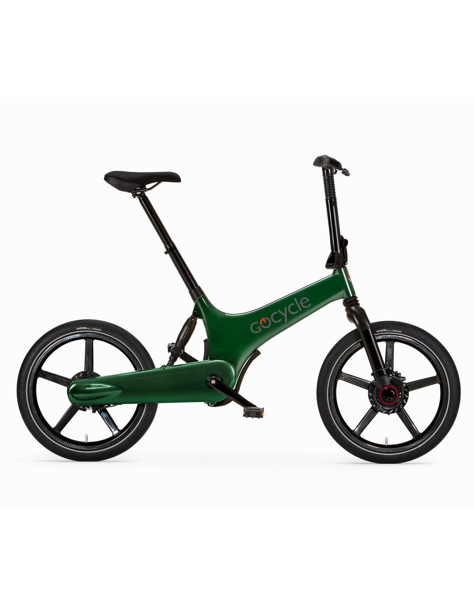 Gocycle GoCycle G3+ folding electric bike green