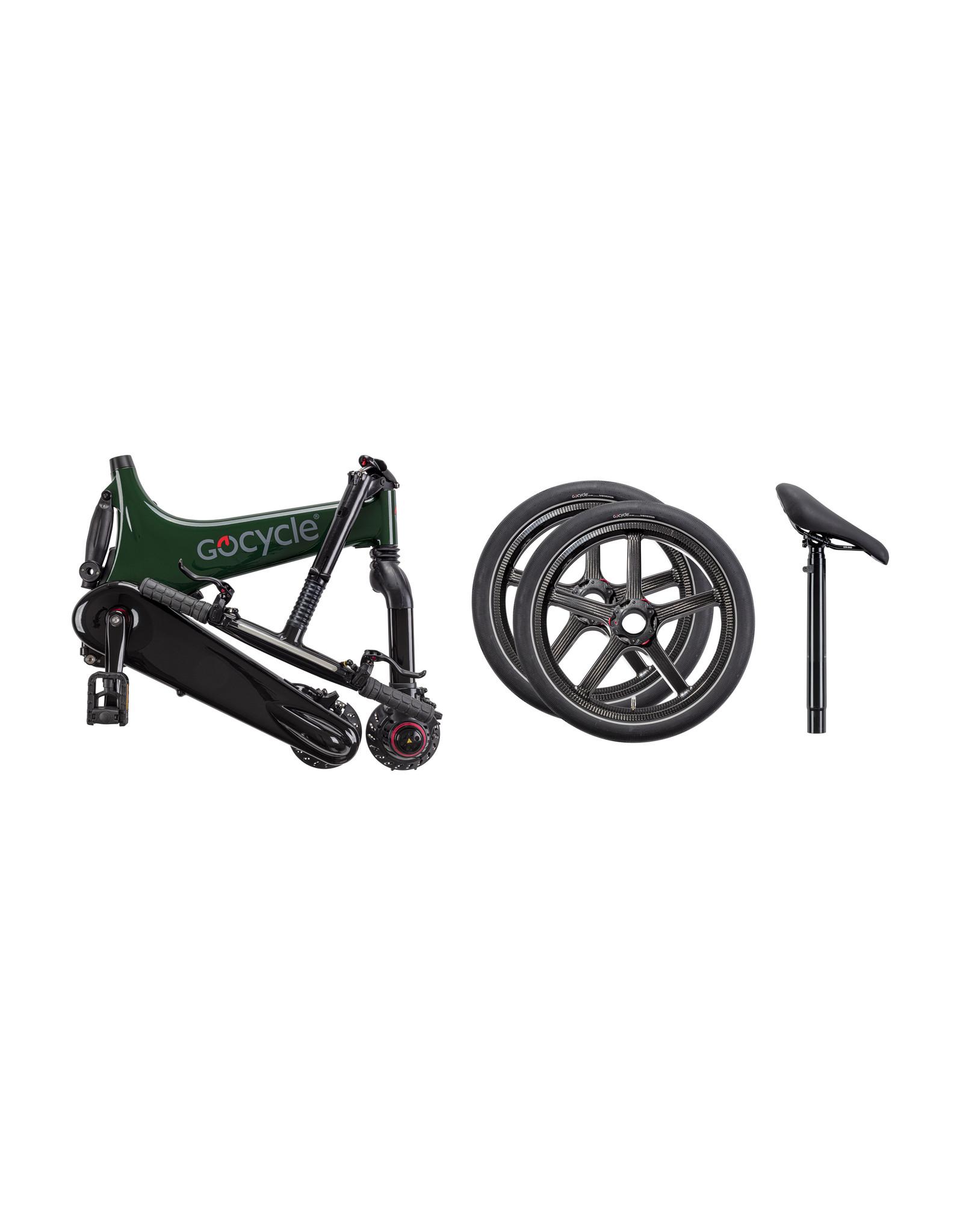 Gocycle GoCycle G3+ vélo pliable électrique blanc