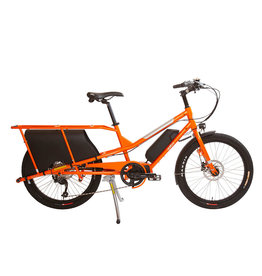 YUBA YUBA Kombi E5 Cargo 9 speed Orange cargo e-bike