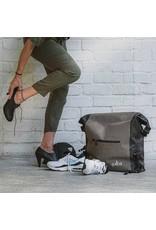 YUBA YUBA Baguette Roll Waterproof, fold top carrier bag, Grey