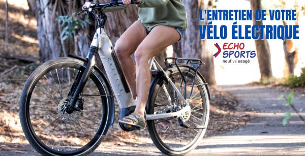 L'entretien de votre vélo électrique
