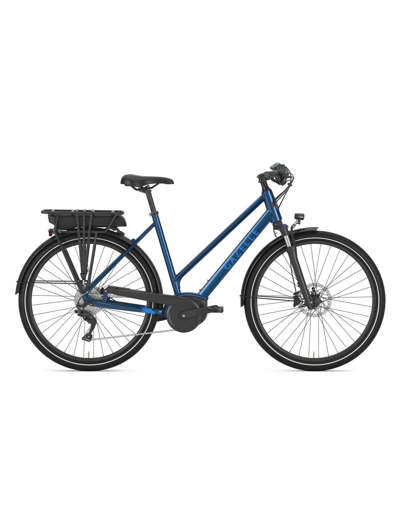GAZELLE Gazelle Medeo T9 CITY LOW-STEP Mallard BLUE Ebike