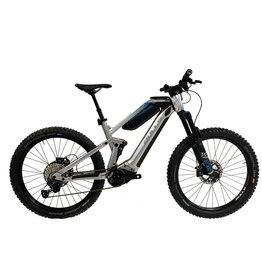 BULLS Bulls adventure evo am silver/blue 27.5 vélo de montagne électrique