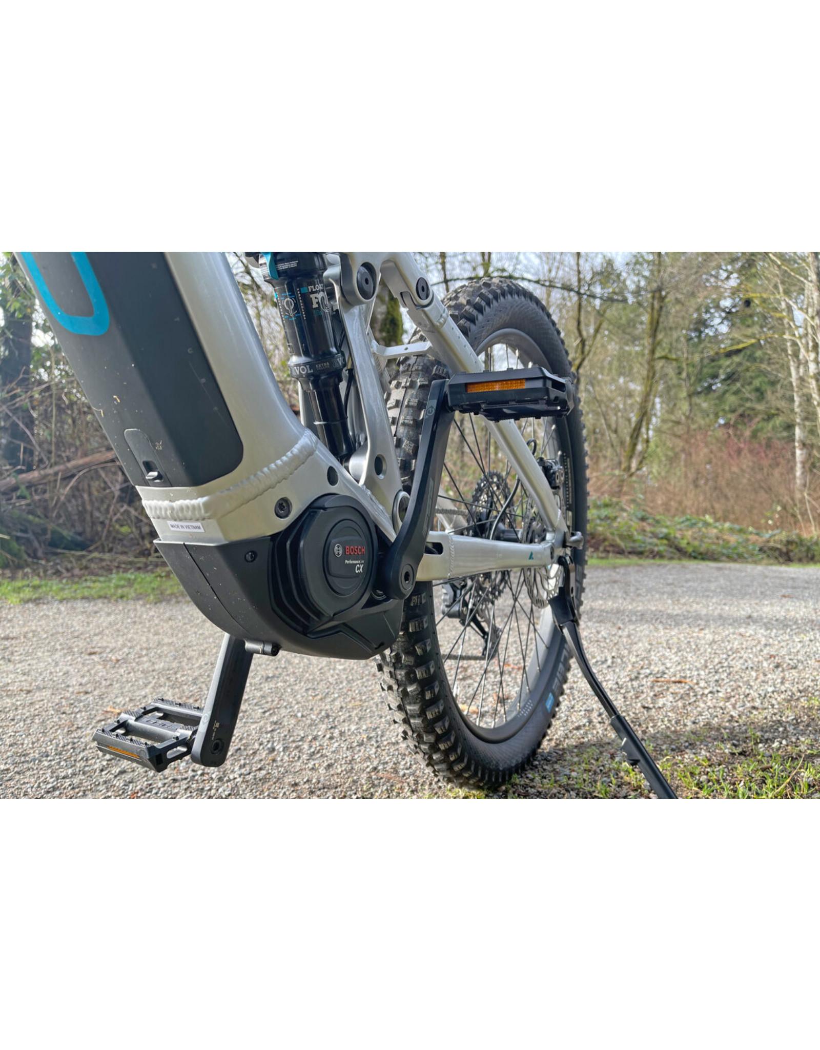 BULLS Bulls adventure evo am silver/blue 27.5 41cm dual battery fully suspended mountain trail bike