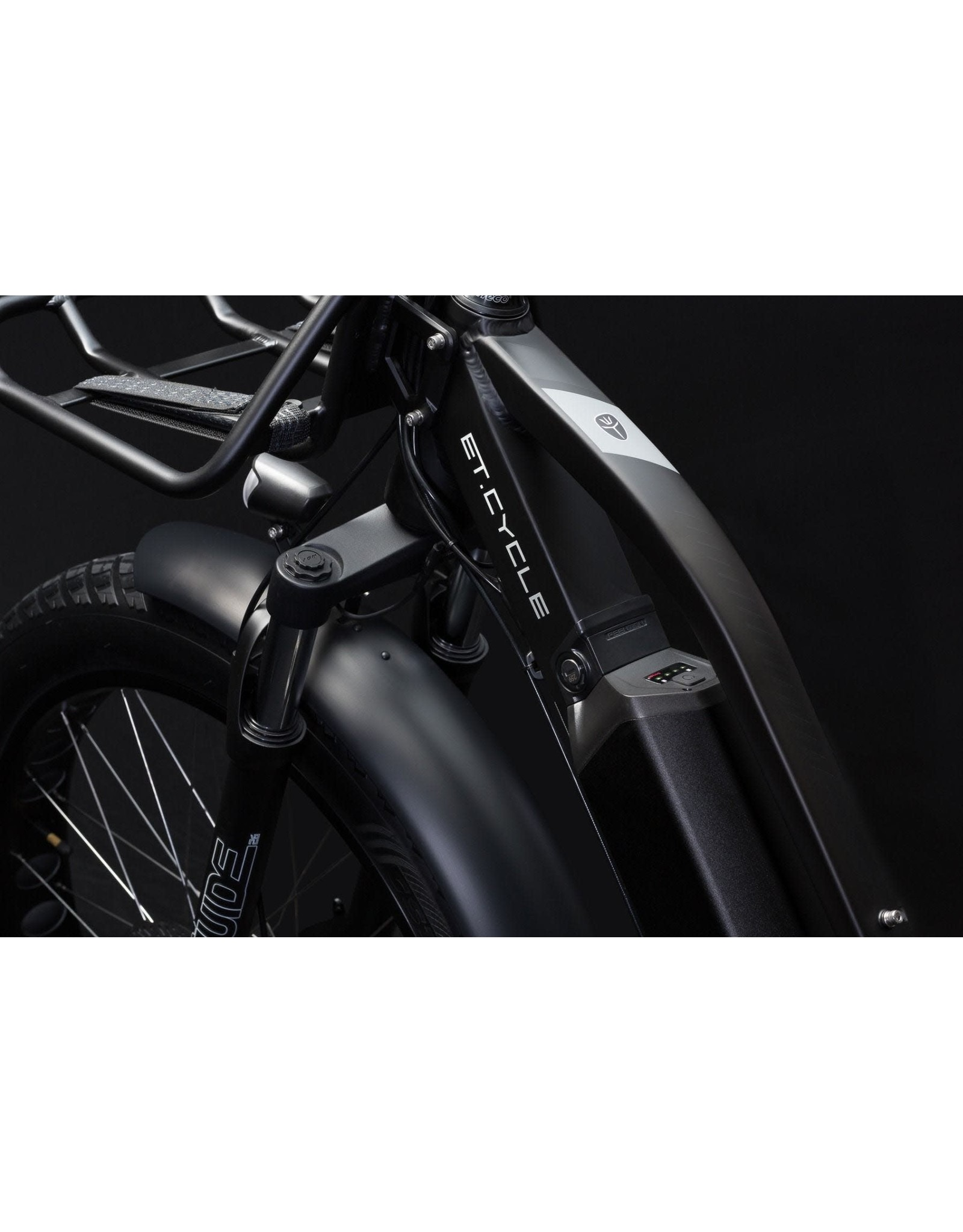 LEON CYCLE ET.Cycle T1000 Electric Fat Bike Silver 46CM