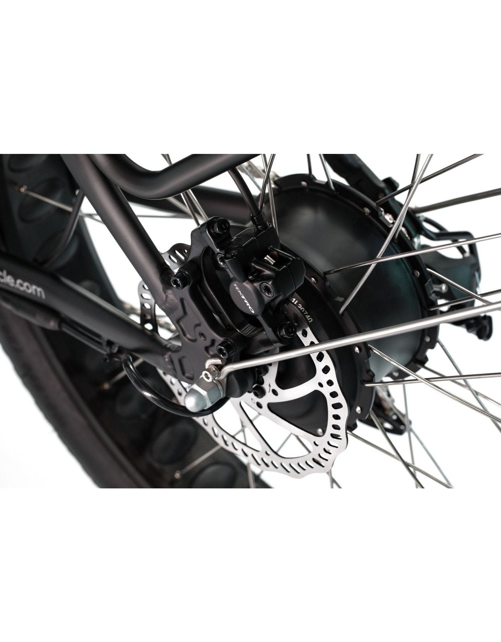 LEON CYCLE ET.Cycle T1000 Fat Bike électrique blanc 46CM